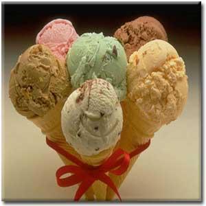 انشا درباره طعم بستنی یخی